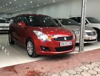 Cần bán gấp Suzuki Swift sản xuất 2014, màu đỏ số tự động