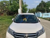 Cần bán Honda CR V năm sản xuất 2014, màu trắng xe gia đình
