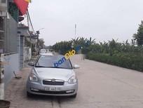 Cần bán Hyundai Verna năm 2009, màu bạc, nhập khẩu nguyên chiếc, 275tr