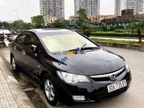Cần bán xe Honda Civic sản xuất 2007, màu đen