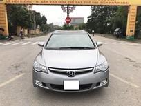 Cần bán xe Honda Civic 2.0AT 2008, màu xám, giá 365tr