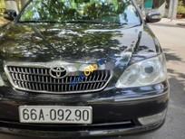 Bán Toyota Camry năm 2005, màu đen, giá 415tr