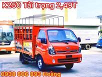 Cần bán xe tải 2T4 Kia K250 thùng mui bạt tại Lâm Đồng-Xe tải 2.4 tấn K250