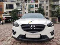 Bán Mazda CX 5 năm sản xuất 2016, màu trắng, số tự động