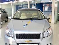 Cần bán Chevrolet Aveo năm sản xuất 2016, màu bạc, số sàn