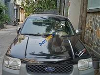Bán Ford Escape năm sản xuất 2004, màu đen, 195tr