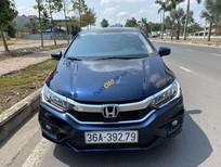 Cần bán Honda City sản xuất 2018, màu xanh lam