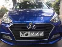 Bán Hyundai Grand i10 năm 2018, màu xanh lam số tự động, 360tr