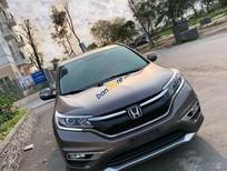 Bán Honda CR V 2015, màu nâu như mới, giá chỉ 735 triệu