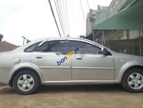 Xe Daewoo Lacetti sản xuất năm 2005, màu bạc xe gia đình giá cạnh tranh