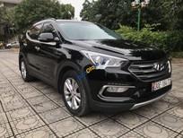 Bán ô tô Hyundai Santa Fe năm 2016, màu đen còn mới