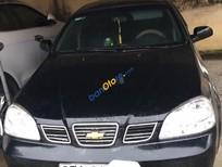 Cần bán lại xe Chevrolet Lacetti đời 2005, màu đen, 105 triệu