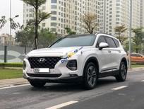 Cần bán xe Hyundai Santa Fe năm 2018, màu trắng còn mới