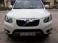 Cần bán Hyundai Santa Fe sản xuất 2011, màu trắng, xe nhập số tự động, 680tr