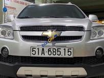 Cần bán lại xe Chevrolet Captiva sản xuất 2008, màu bạc, giá 250tr