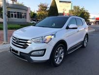 Bán Hyundai Santa Fe năm sản xuất 2015, màu trắng còn mới, 886tr