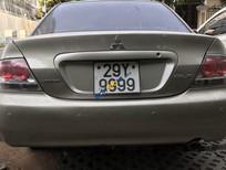 Bán xe Mitsubishi Lancer đời 2005, màu xám, biển đẹp