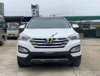 Bán ô tô Hyundai Santa Fe sản xuất năm 2014, màu trắng, nhập khẩu