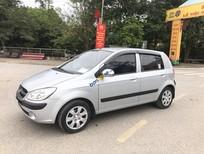 Bán xe nhập khẩu Hyundai Getz 1.1MT sản xuất 2009, màu bạc,