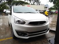 Cần bán xe Mitsubishi Mirage CVT 2019, màu trắng, xe nhập, có bán trả góp