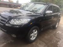 Bán xe Hyundai Santa Fe sản xuất năm 2008, màu đen, nhập khẩu, giá tốt