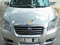 Cần bán Daewoo Gentra sản xuất năm 2009, màu bạc
