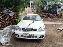 Cần bán Daewoo Lanos đời 2003, màu trắng, giá chỉ 80 triệu