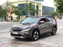 Cần bán gấp Honda CR V 2.4L sản xuất năm 2015, màu xám