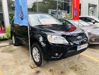 Bán Ford Escape sản xuất 2011, màu đen xe gia đình, giá tốt