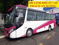 Mua xe 29 chỗ Thaco Meadow TB85S, giá xe 29 chỗ Thaco 2020