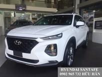 Bán Hyundai SantaFe, màu trắng máy dầu, ưu đãi 70 triệu, xe giao ngay