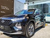 Bán Hyundai Santafe máy dầu màu đen giá tốt, giảm 70 triệu xe giao ngay