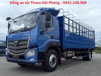 Giá bán xe tải Auman C160 Thaco 9 tấn tại đại lý Trọng Thiện Hải Phòng