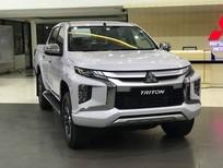 Cần bán Mitsubishi Triton AT 4x2 Mivec 2020, màu trắng, nhập khẩu có bán trà góp 0906.884.030