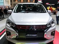 Bán xe Mitsubishi Attrage GLS 2020, màu trắng, nhập khẩu nguyên chiếc