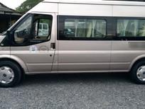 Cần bán lại xe Ford Transit tiêu chuẩn 2014, màu hồng phấn, 385tr