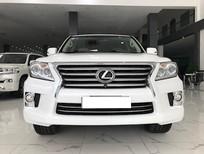 Bán Lexus LX570 trắng bản xuất Mỹ model 2014 đăng ký cá nhân một chủ từ đầu