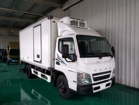 Fuso Canter 4.99 thùng đông lạnh, xe Nhật Bản thùng dài, âm 20 độ C