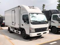 Xe tải Nhật Bản Fuso đông lạnh 3 tấn Canter 6.5 Euro4, trả góp 70%