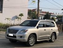 Cần bán Lexus LX 570 model 2010 màu bạc, xe nhập khẩu mới nhất VN