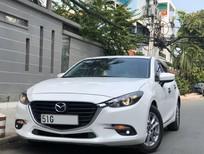 Xe gia đình Mazda 3 cuối 2018 màu trắng mới 99% biển SG còn bảo hành chính hãng
