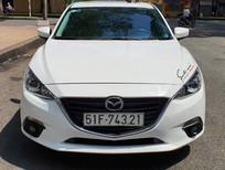 Bán xe Mazda 3 2016, màu trắng, giá chỉ 518 triệu