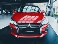 Bán Mitsubishi Attrage năm sản xuất 2021, màu đỏ, xe nhập giá cạnh tranh