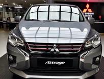 Bán Mitsubishi Attrage năm sản xuất 2021, màu bạc, xe nhập, giá cạnh tranh