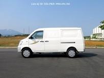 Bán xe tải Van Thaco Towner máy Suzuki 2 chỗ, 5 chỗ tải 750kg nâng tải 945kg vào phố