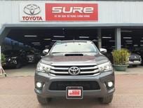 Bán Toyota Hilux 3.0G 2015, màu xám, nhập khẩu chính hãng, giá giảm tốt