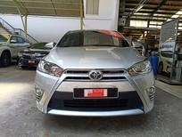 Cần bán gấp Toyota Yaris 1.3G 2015, màu bạc, nhập khẩu nguyên chiếc