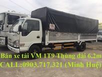 Bán xe tải Vĩnh Phát VM 1T9 thùng mui bạt dài 6m2