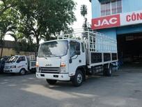 Bán xe tải Jac 6T5 thùng dài 6m2, máy Cummins, cabin đôi