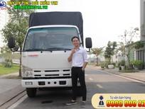 """""""Giá mới"""" Xe tải Isuzu Vĩnh Phát 1.9 tấn, thùng dài 6.2 mét - 0909 000 825"""
